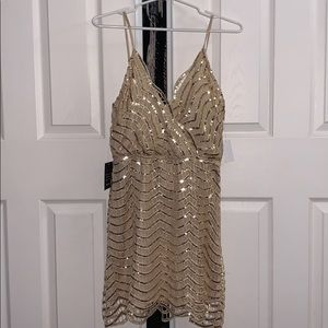 Charlotte Russe Gold Dress